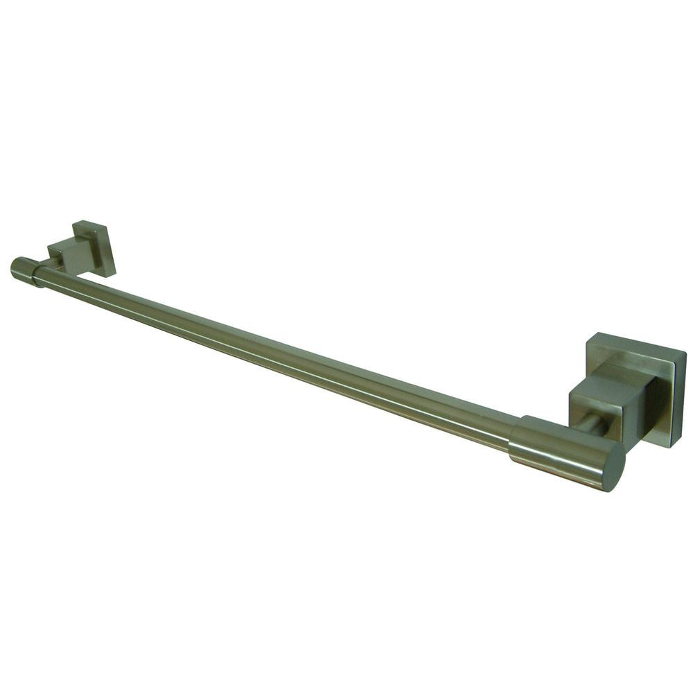 "Kingston Brass Claremont Satin Nickel 24"" Towel Bar Towel Rack BAH8641SN"