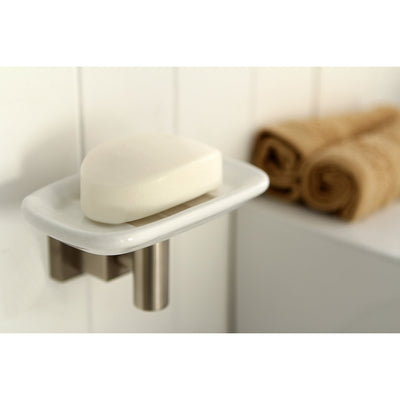 Kingston Brass Claremont Satin Nickel Wall mounted Soap Dish BAH8645SN
