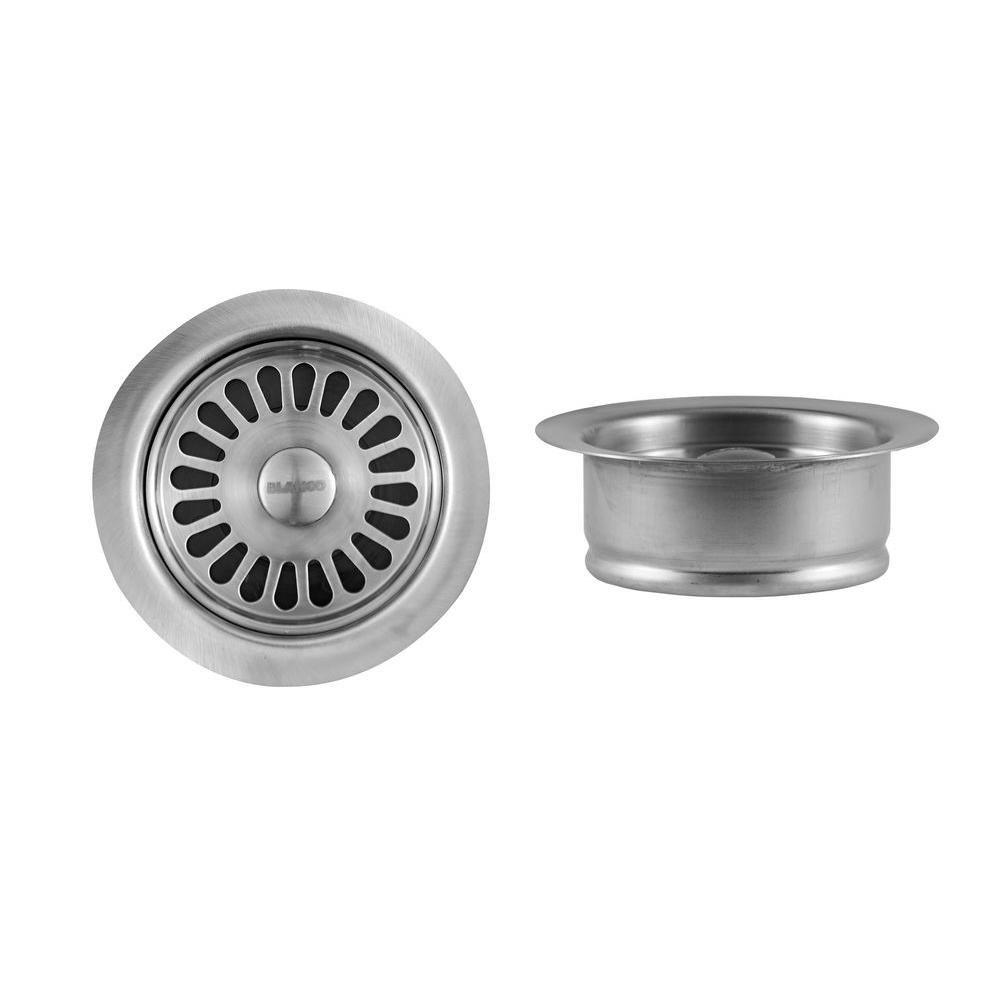 Blanco 3-1/2 inch Sink Waste Flange in Stainless 478176