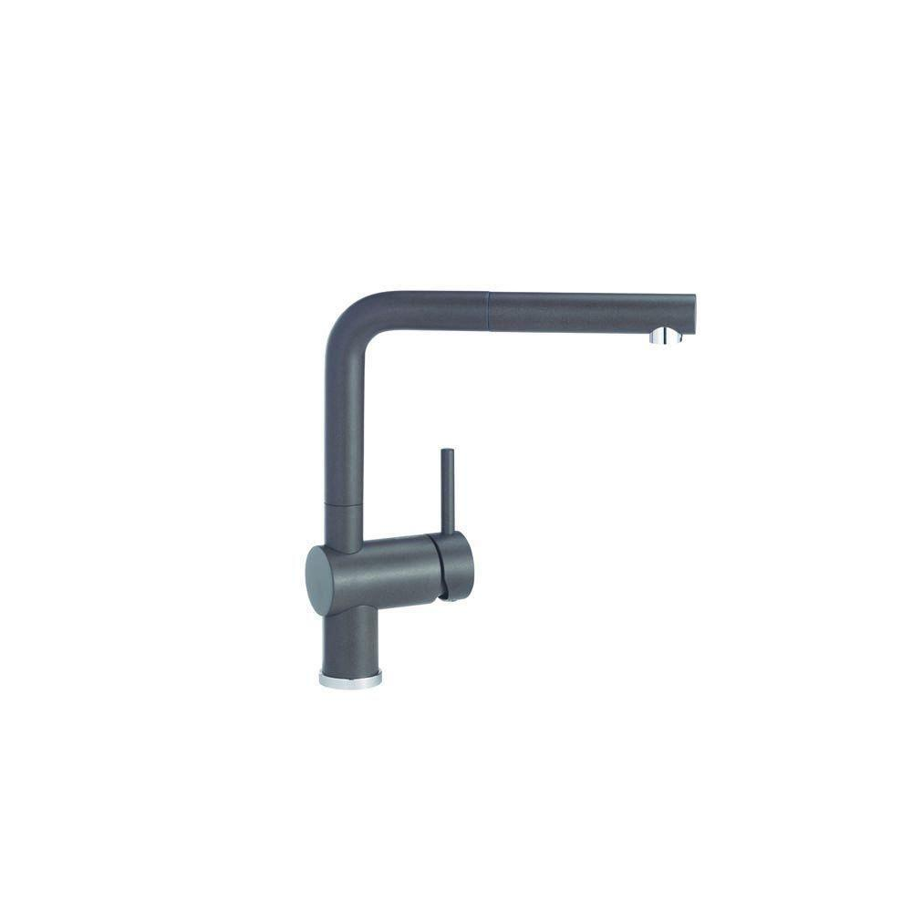 Blanco Linus 1-Handle Kitchen Faucet in Cafe Brown 509555