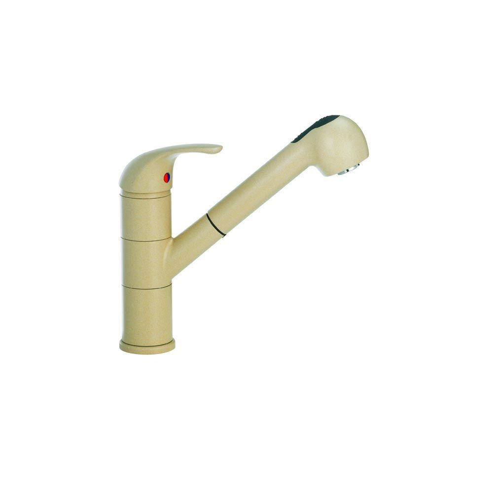 Blanco Torino Pull Out Kitchen Faucet in Biscotti 529293