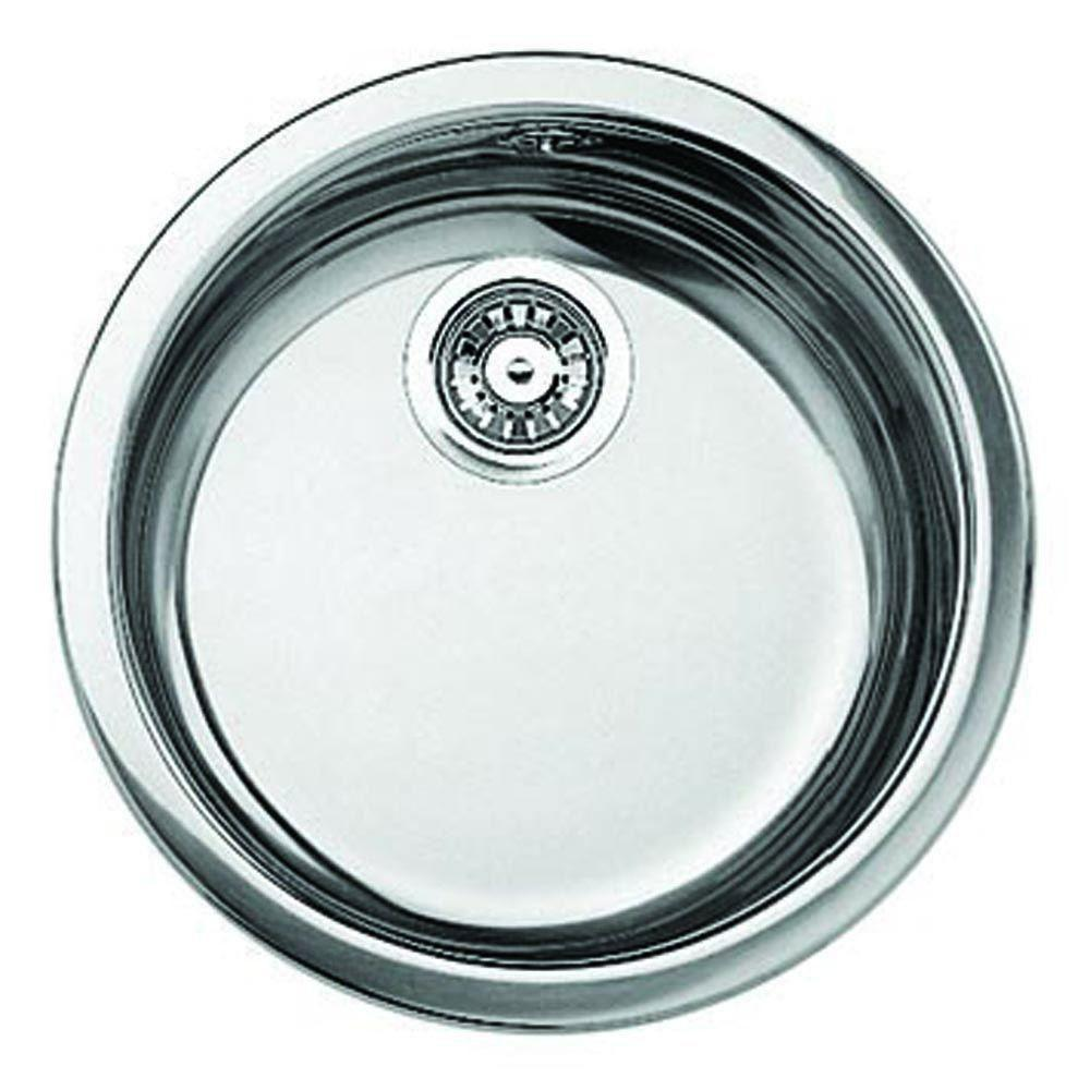 Blanco Rondo Dual Mount Stainless Steel 18 1/8 inch 0-Hole Single Bowl Bar Sink 6732
