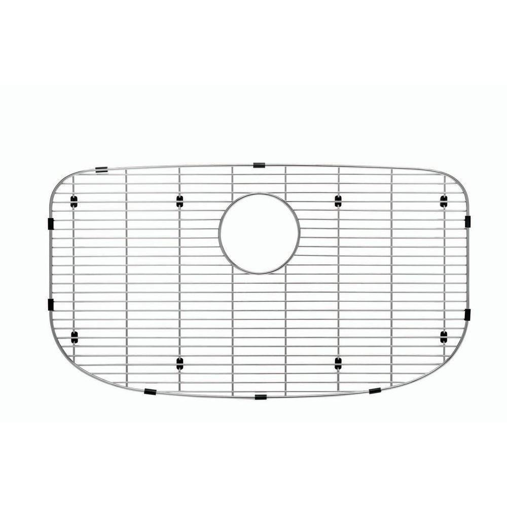 Blanco 230668 Sink Grid for One Super Single Bowl Kitchen Sink, Small, Stainless Steel 675759