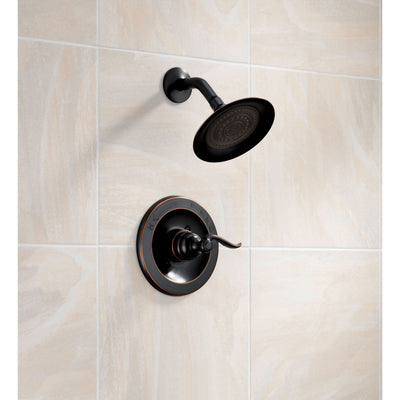 Delta Windemere Single Handle Oil Rubbed Bronze Shower Only Faucet w/Valve D553V