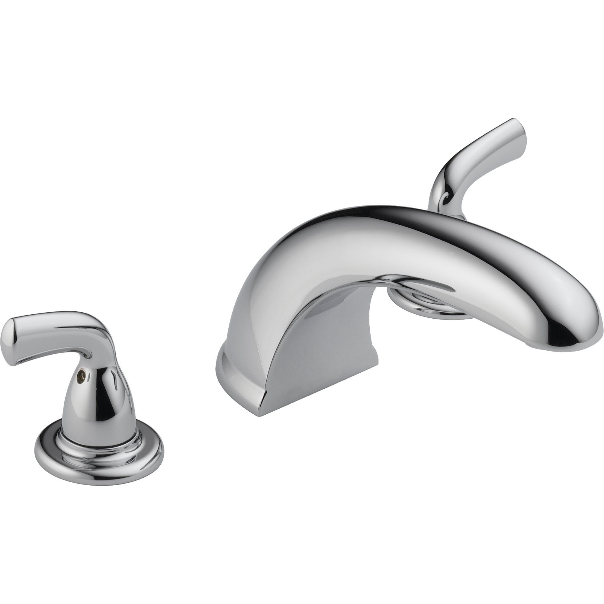 Delta Widespread Chrome Roman Tub Filler Faucet Trim Kit 550067