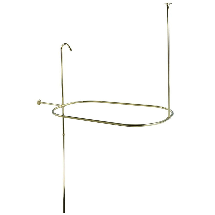 Kingston Brass Polished Shower Riser With Enclosure CC10402 42
