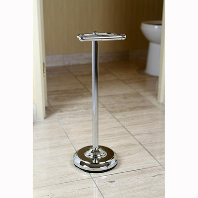 Kingston Brass Chrome pedestal freestanding Toilet Paper Holder CC2001
