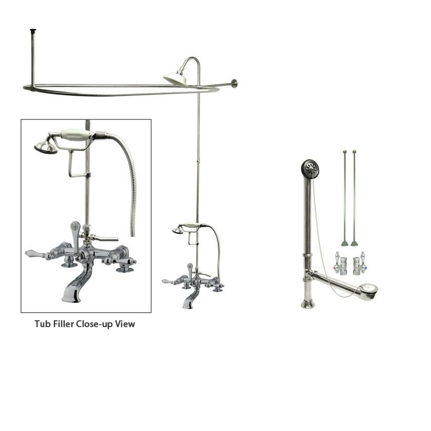 Clawfoot Tub Shower Get A Claw Foot Tub And Shower Combo Kit