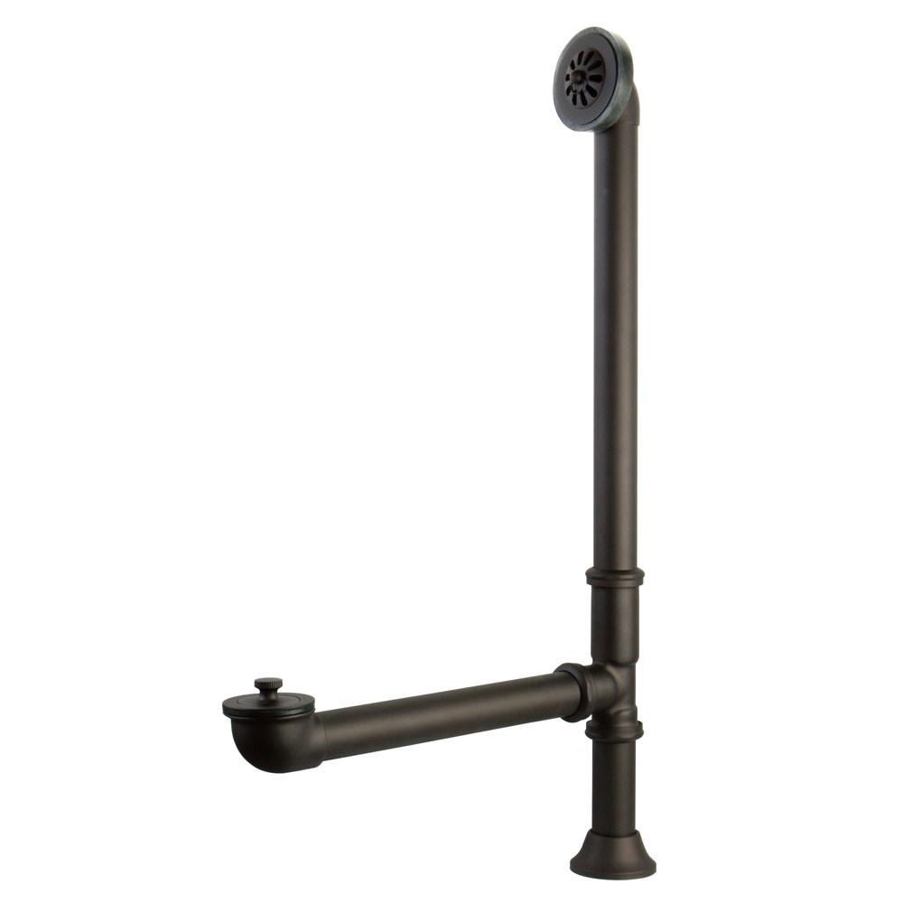 Kingston Brass Oil Rubbed Bronze Clawfoot Tub Waste and Overflow Drain CC2085