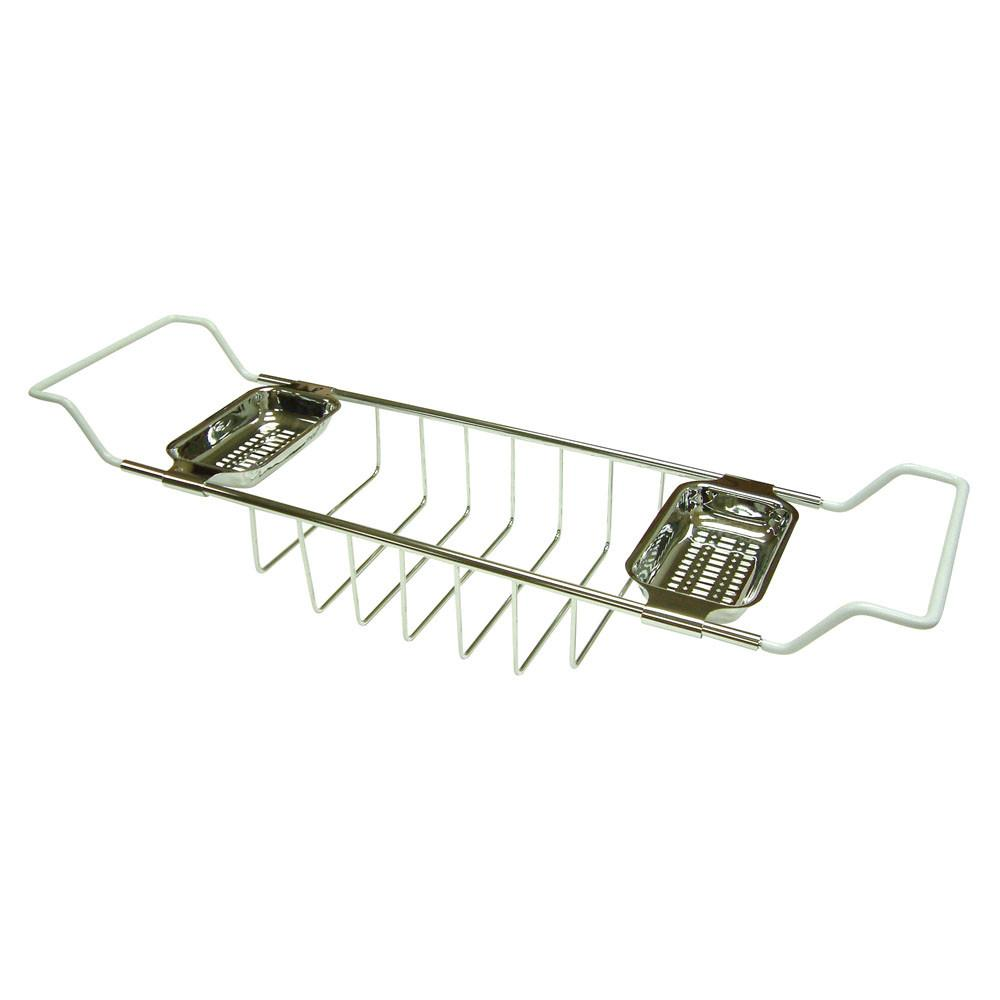 Kingston Brass Chrome Clawfoot Tub Bath Tub Shelf Soap Caddy CC2151