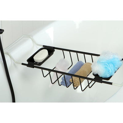 Kingston Brass Oil Rubbed Bronze Clawfoot Tub Bath Tub Shelf Soap Caddy CC2155