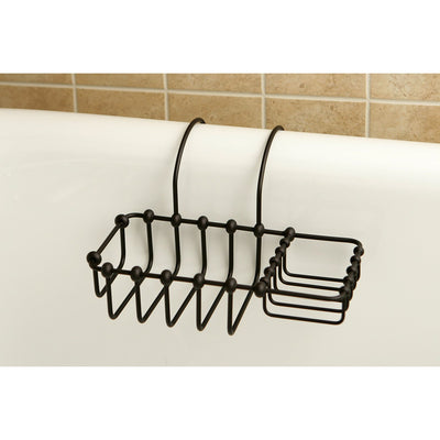 "Kingston Brass Oil Rubbed Bronze 8"" Clawfoot Bath Tub Soap Caddy Shelf CC2165"