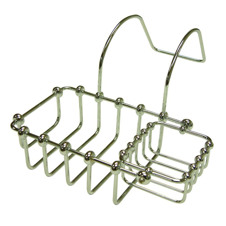 Clawfoot Tub Soap Caddy Soap Dish and Shampoo Holder Tray for