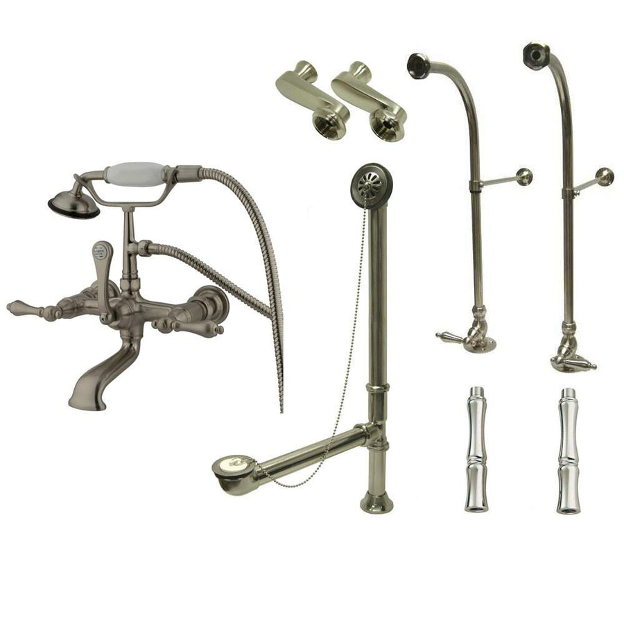 Clawfoot Tub Faucet - Tub Filler Faucets for Freestanding Bathtubs ...