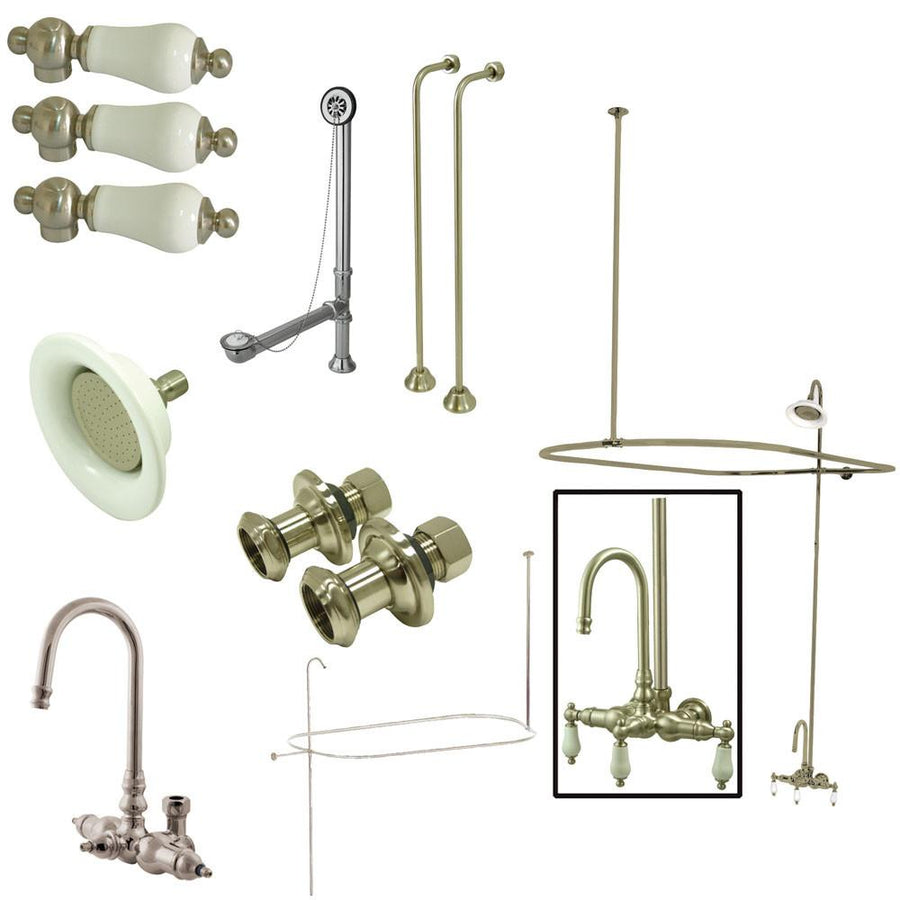Clawfoot Tub Shower Get A Claw Foot Tub And Shower Combo Kit - Accessories for clawfoot tub