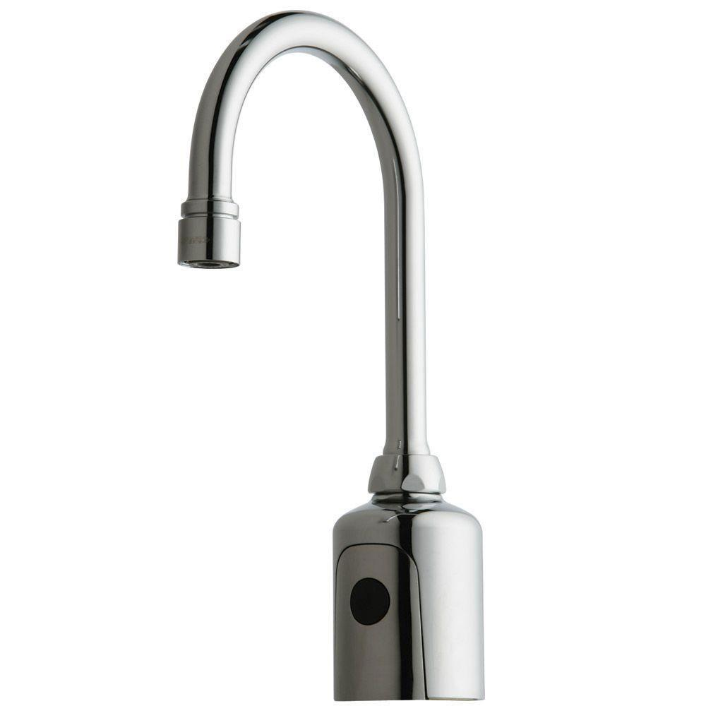 Chicago 116.203.AB.1 Faucets Universal Electronic Lavatory Faucet with Dual Beam Infrared Sensor 519455