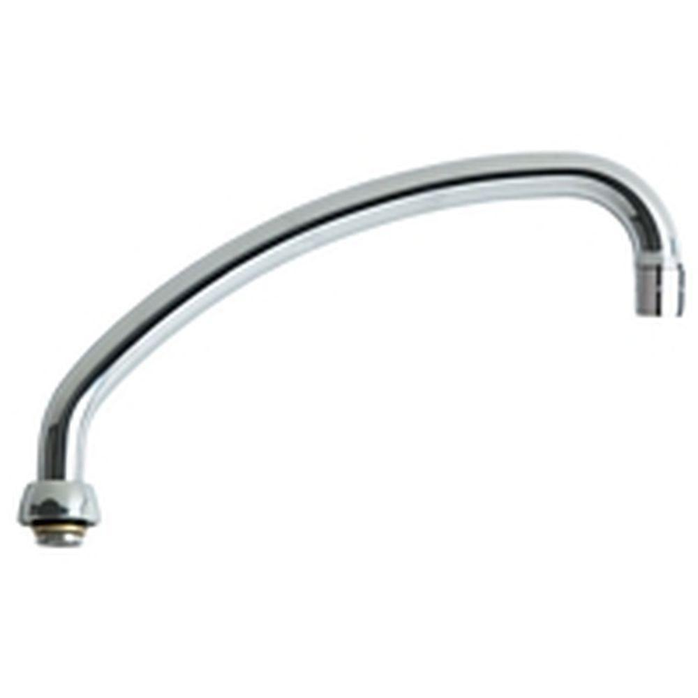 Chicago Faucets 9-1/2 inch L-Type Swing Spout 634116