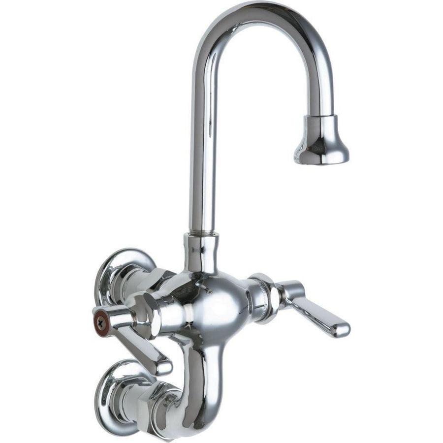 wall mount kitchen faucets get a wall mounted kitchen sink chicago faucets 2 handle kitchen faucet in chrome with 3 3 8 inch
