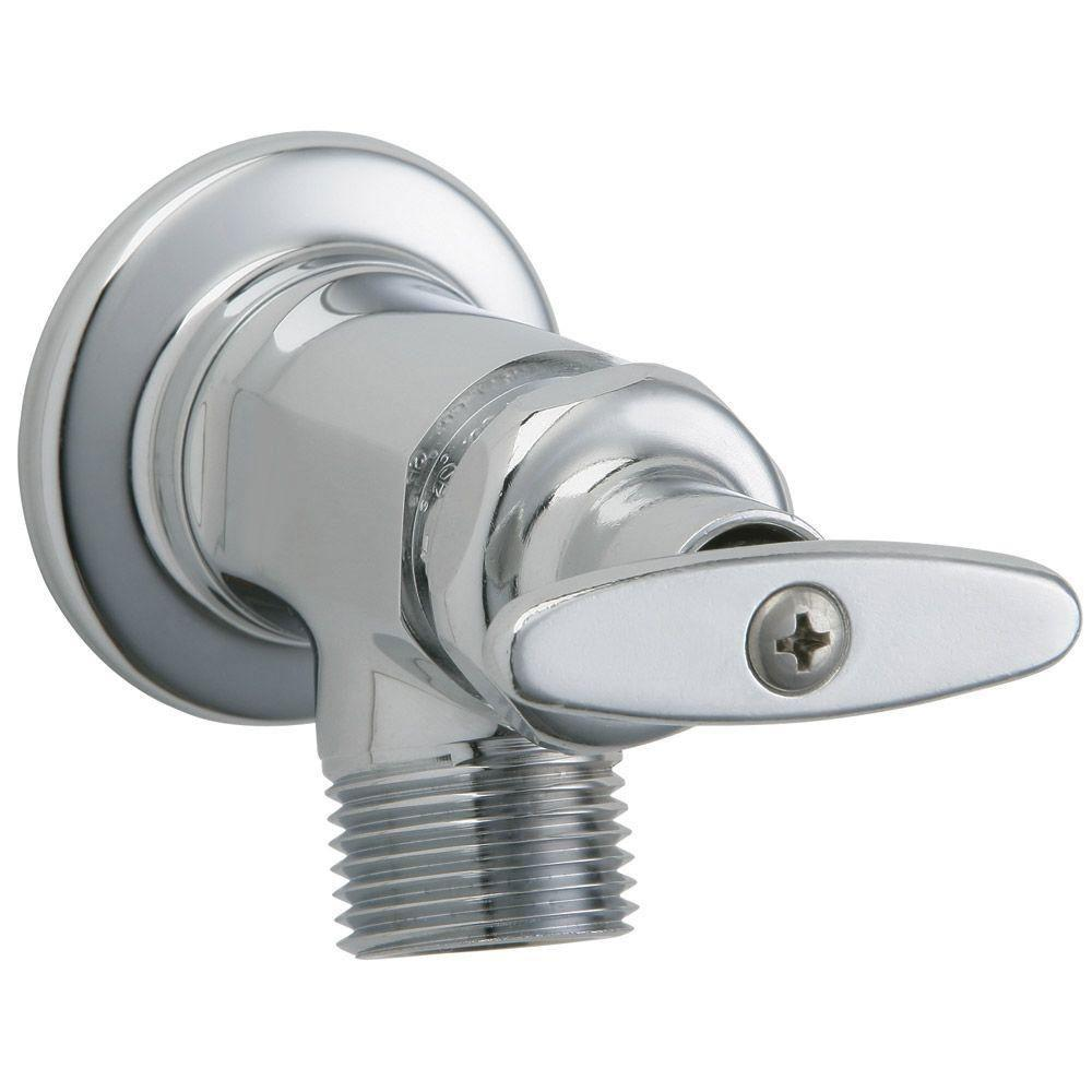 Chicago Faucets Chrome Wall Mounted Inside Sill Fitting 853102