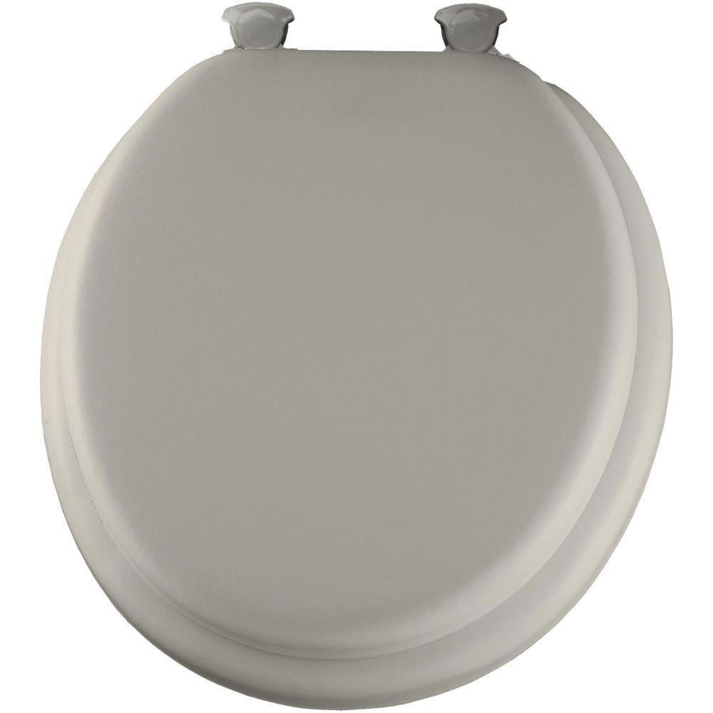 Bemis Lift-Off Soft Round Closed Front Toilet Seat in Biscuit 480848