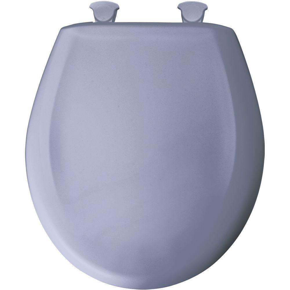Bemis Round Closed Front Toilet Seat in Skylight 529739