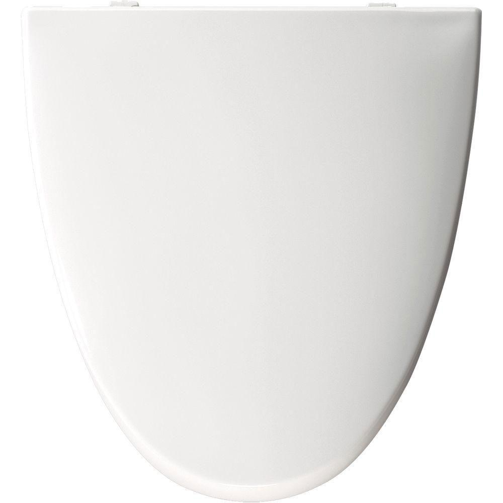 Bemis Elongated Closed Front Toilet Seat in White 777187
