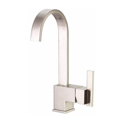 Danze Sirius Stainless Steel Fixed Spout Single Handle Bar Faucet