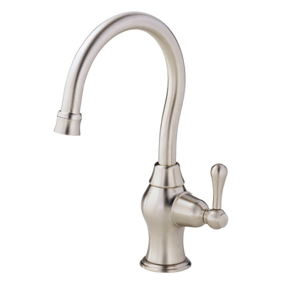 Danze Melrose Stainless Steel Single Side Lever Handle Bar Faucet