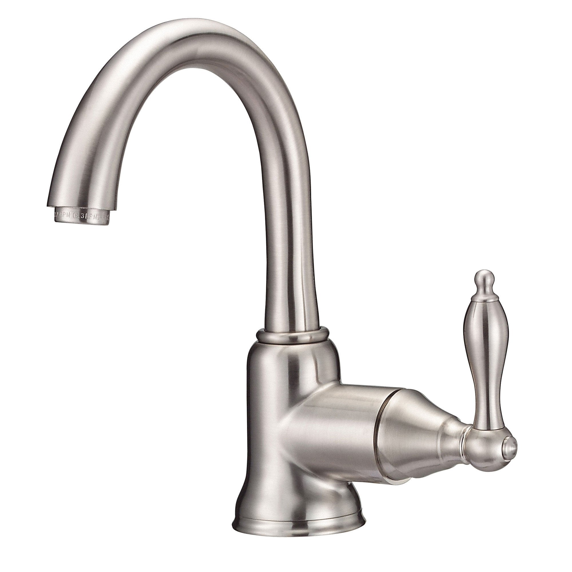 Danze Fairmont Brushed Nickel Single Handle Bathroom Centerset Faucet w/ Drain