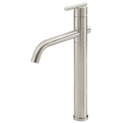 Danze Parma Brushed Nickel Single Handle Vessel Sink Faucet w Grid Drain