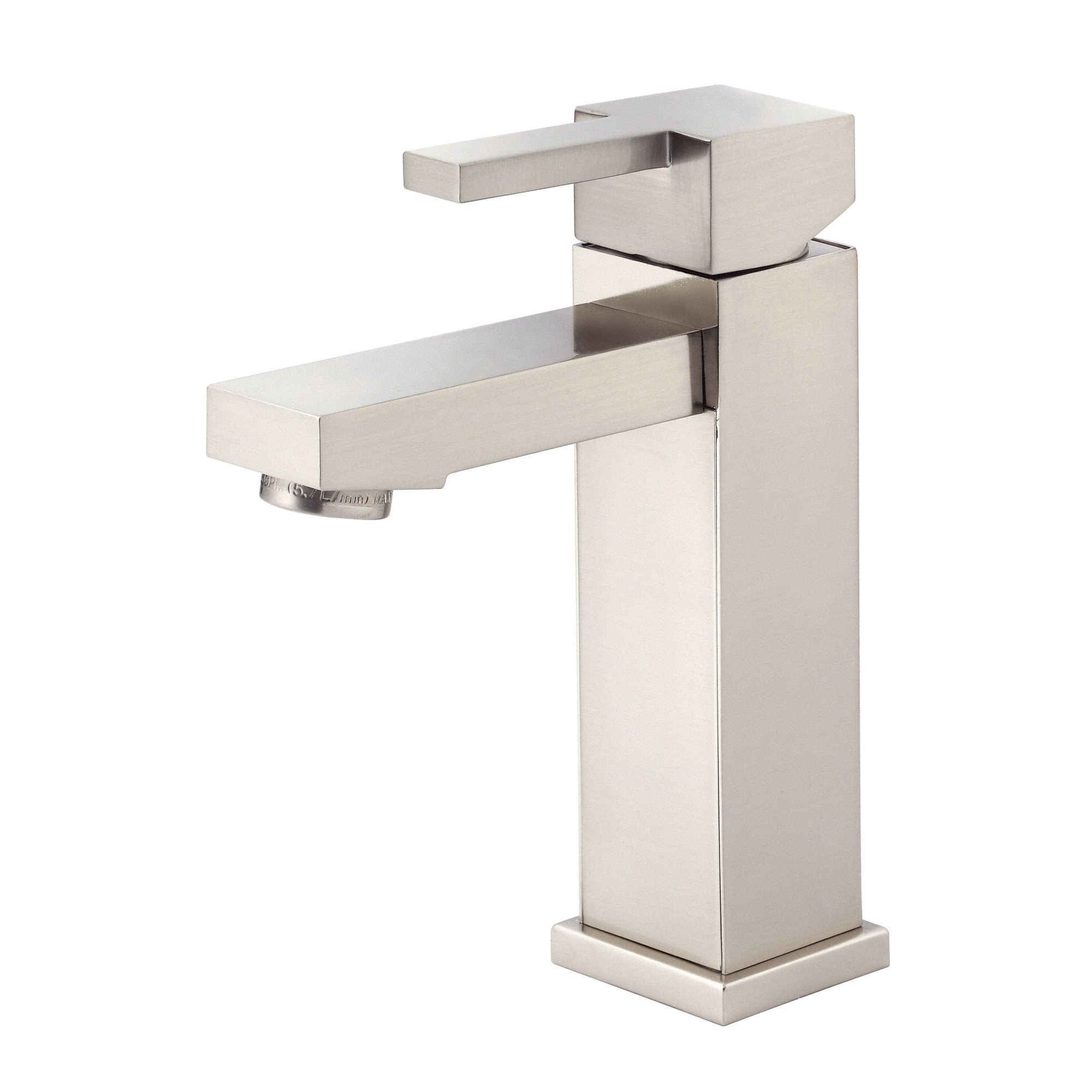 Danze Reef Brushed Nickel Single Handle Bathroom Sink Lavy Faucet w Drain