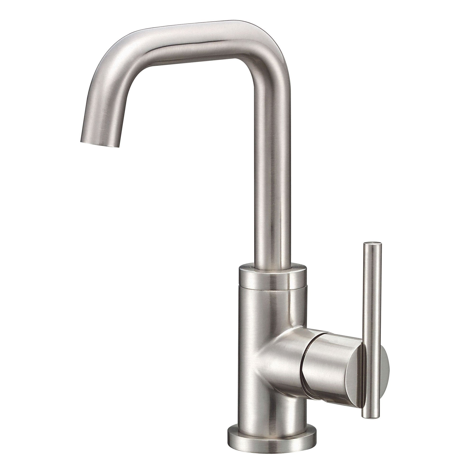 Danze Parma Brushed Nickel Single Hole 1 Handle Trimline Bathroom Faucet