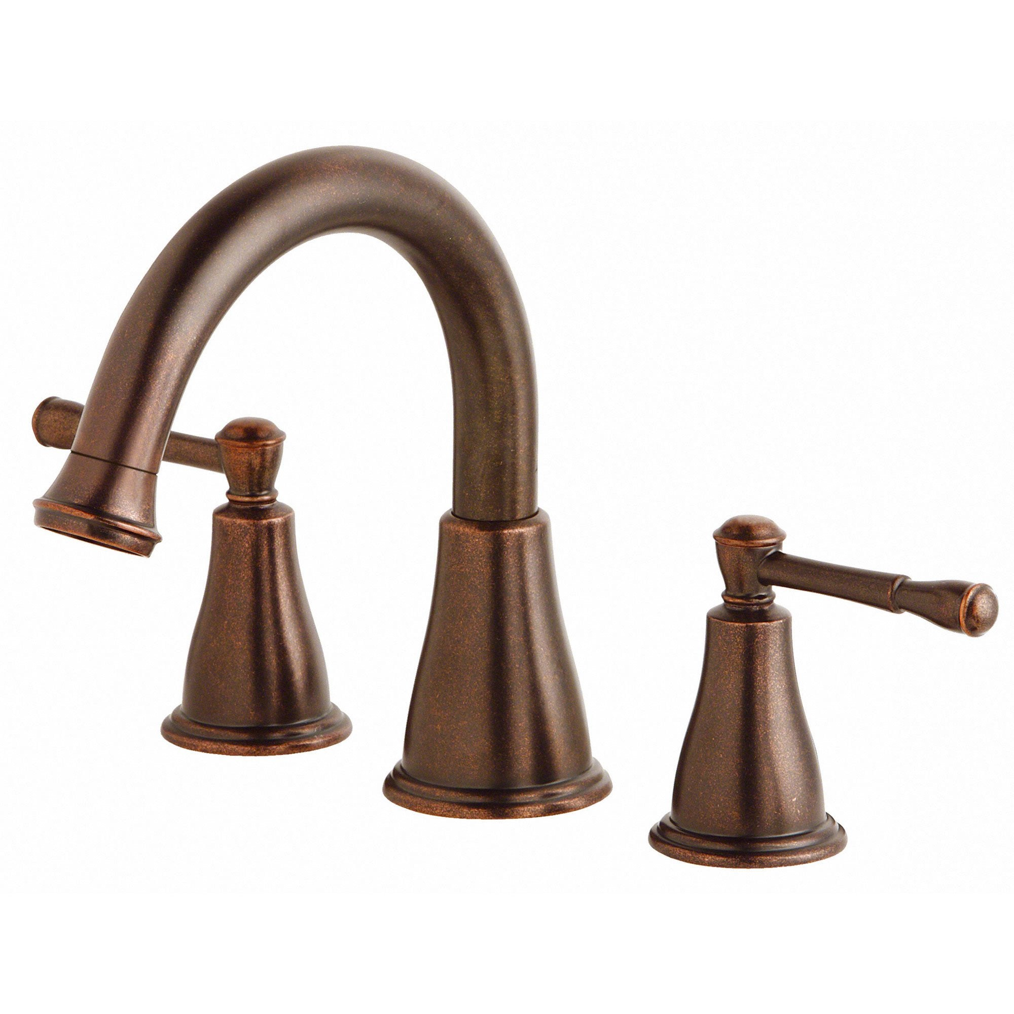 Danze Eastham Tumbled Bronze 2 Handle Roman Tub Filler Faucet INCLUDES Rough-in Valve