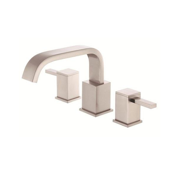 Danze Reef Brushed Nickel 2 Handle Widespread Roman Tub Filler Faucet INCLUDES Rough-in Valve