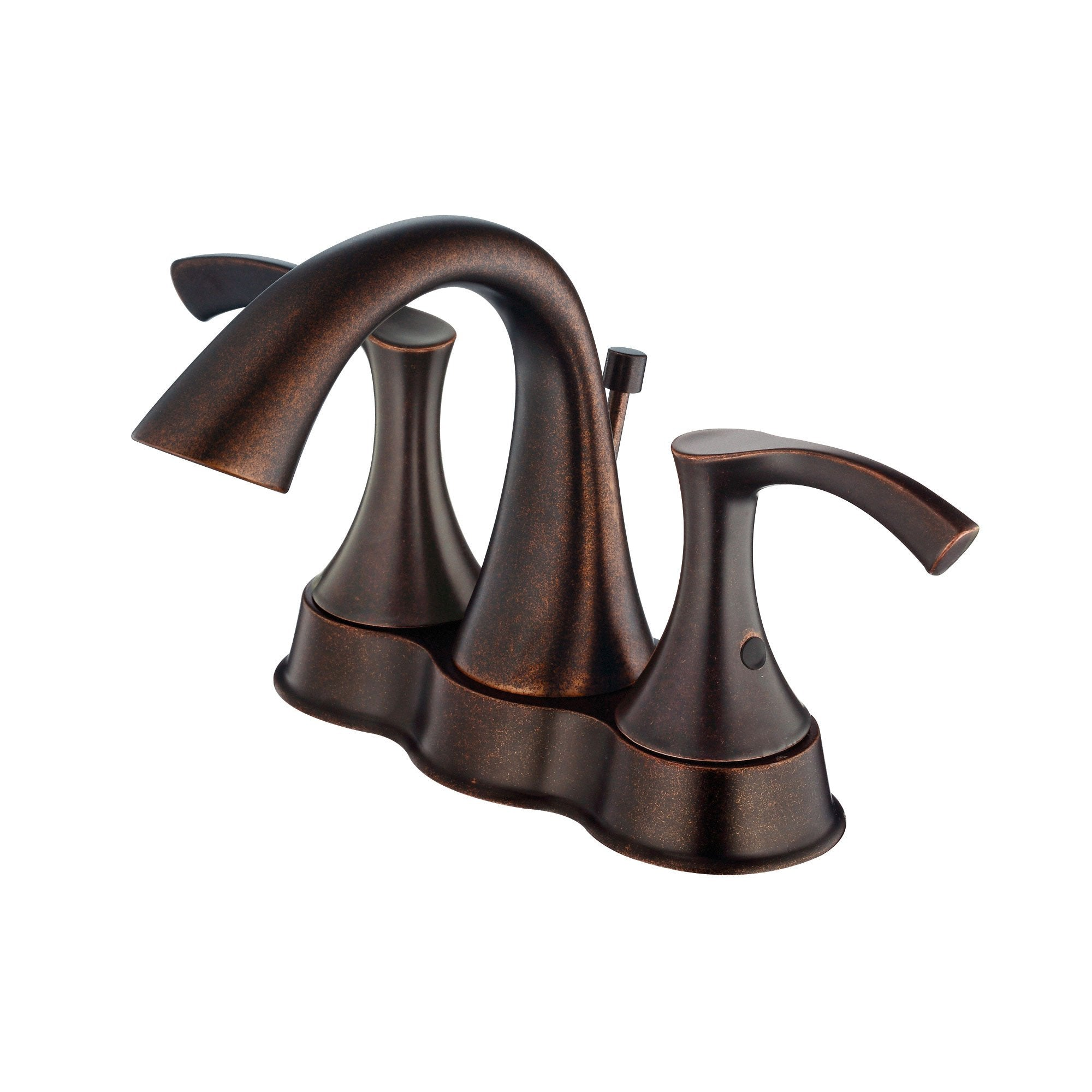 "Danze Antioch Tumbled Bronze 4"" Centerset Bathroom Sink Faucet w/ Pop-up Drain"