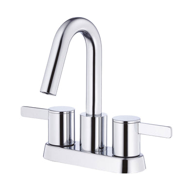"Danze Amalfi Chrome High Spout 4"" Centerset Bathroom Sink Faucet w/ Pop-up Drain"