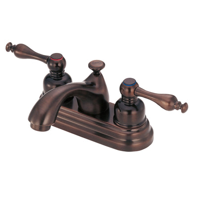 Danze Sheridan Oil Rubbed Bronze 2 Handle Centerset Bathroom Faucet w/Drain