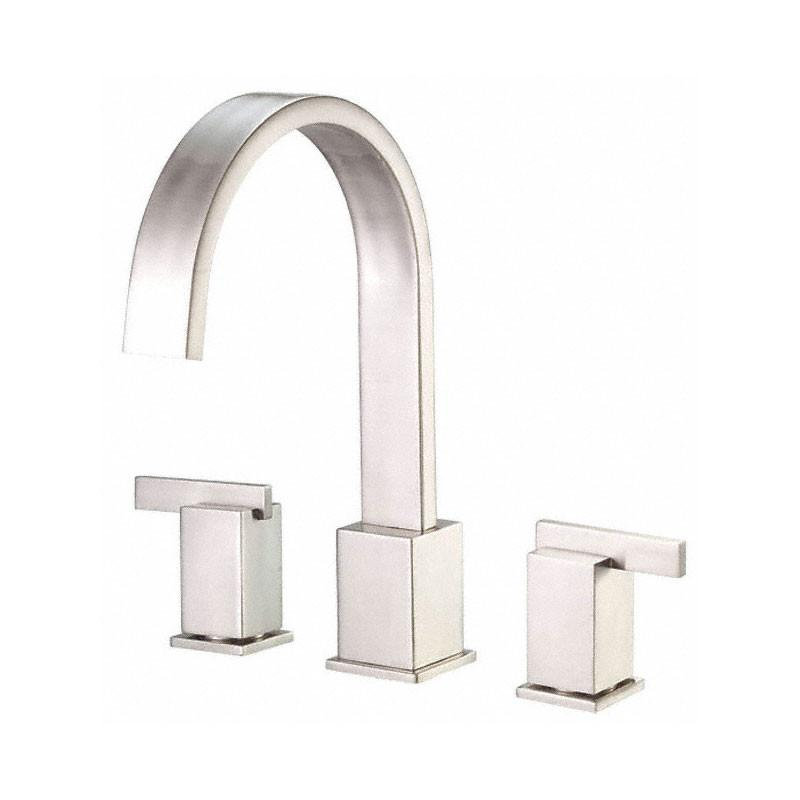 Danze Sirius Brushed Nickel Modern Widespread Roman Tub Filler Faucet INCLUDES Rough-in Valve