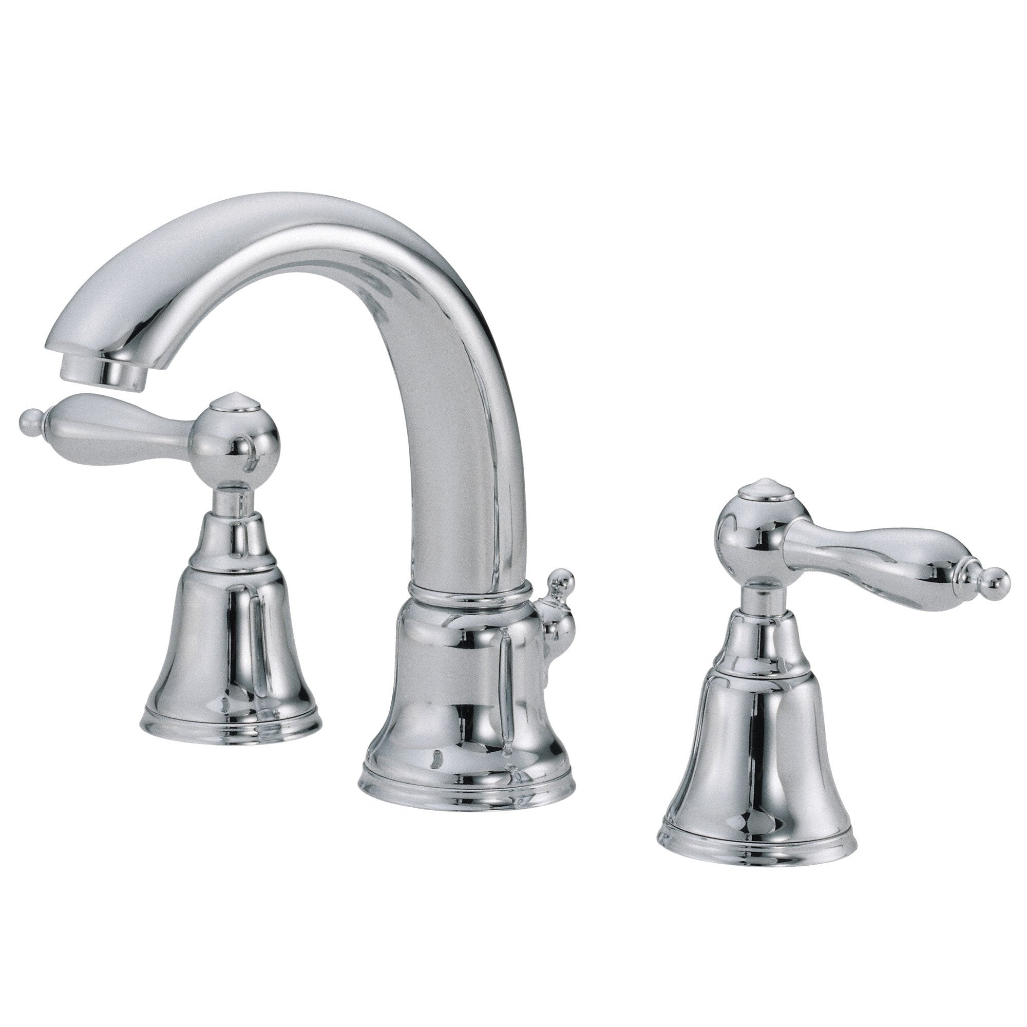 Danze Fairmont Chrome 2 Lever Handle Mini-Widespread Bathroom Sink Faucet