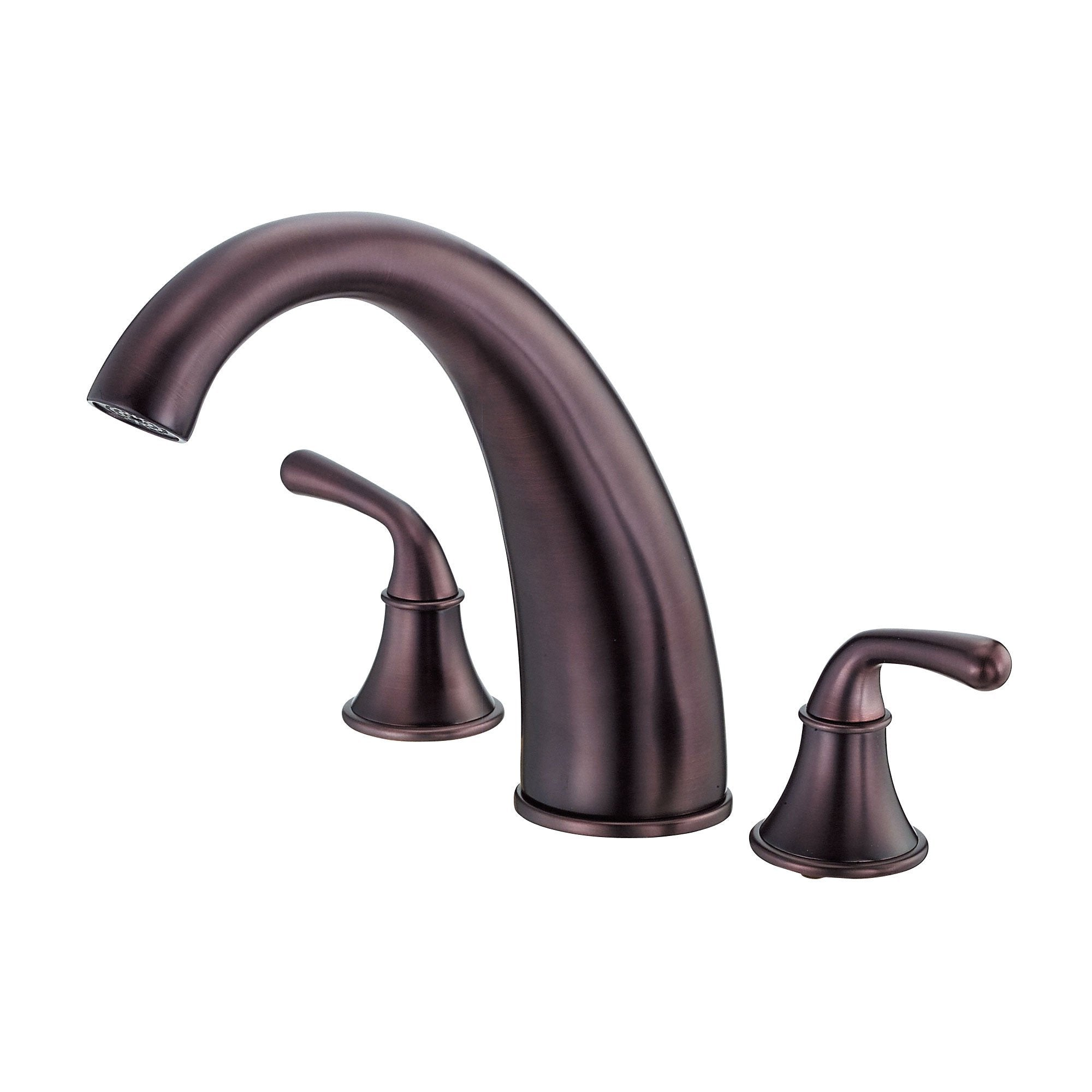 Danze Bannockburn Oil Rubbed Bronze HiArch Spout Widespread Roman Tub Faucet INCLUDES Rough-in Valve
