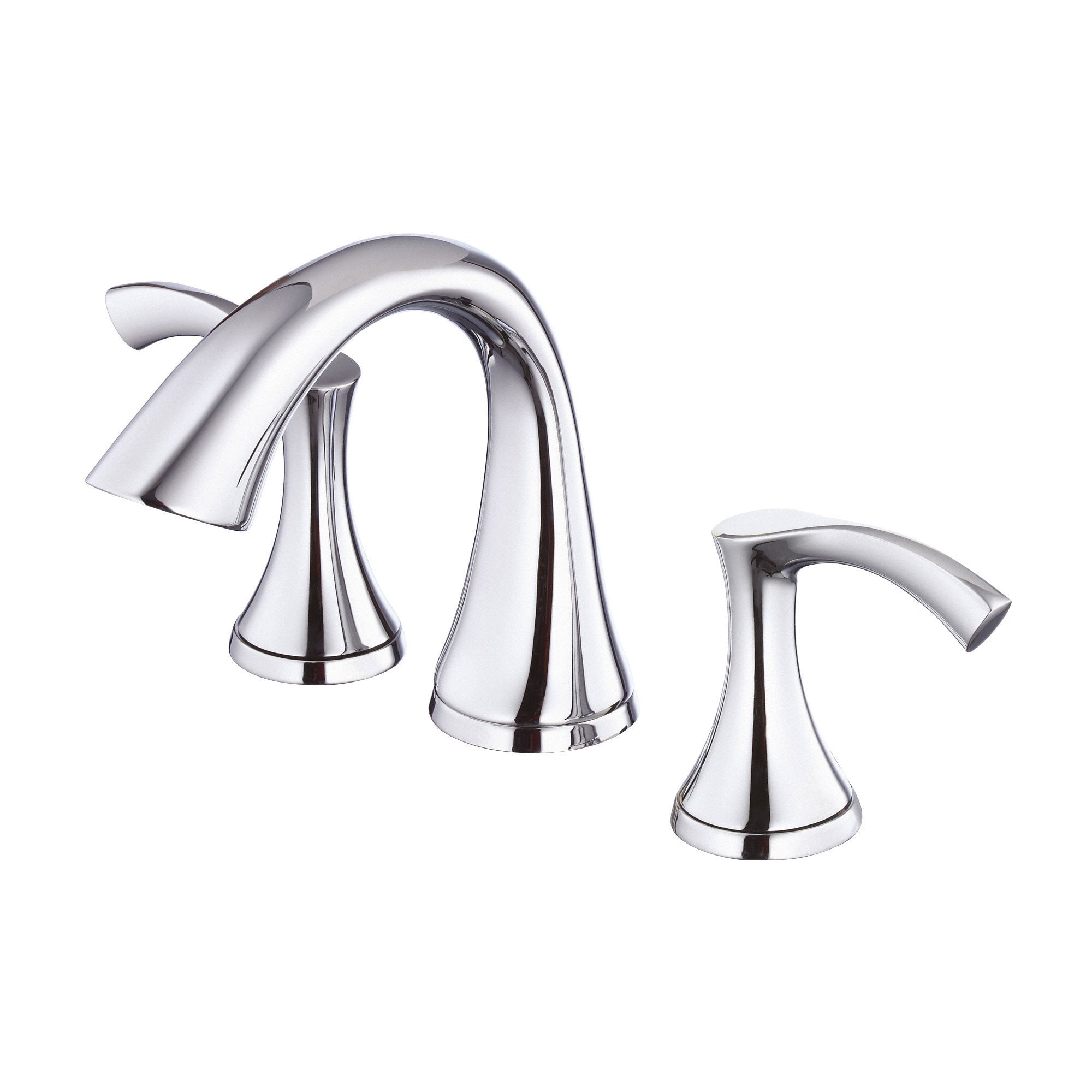 "Danze Antioch Chrome 8"" 2 Handle Widespread Bathroom Sink Faucet"