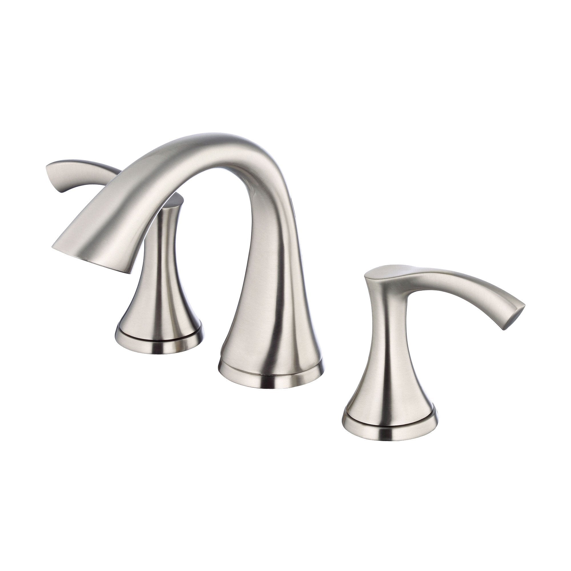 "Danze Antioch Brushed Nickel 8"" 2 Handle Widespread Bathroom Sink Faucet"