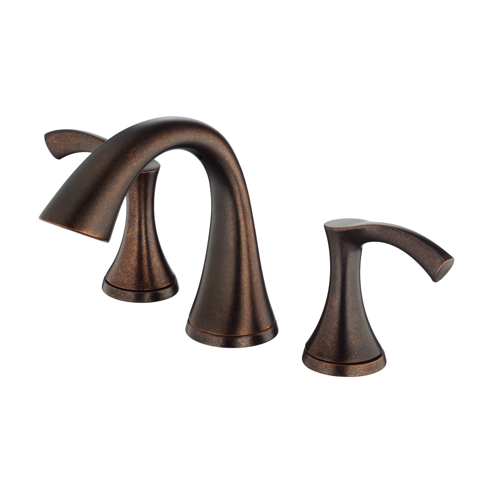 Danze Antioch Tumbled Bronze Two Handle Widespread Bathroom Sink Faucet