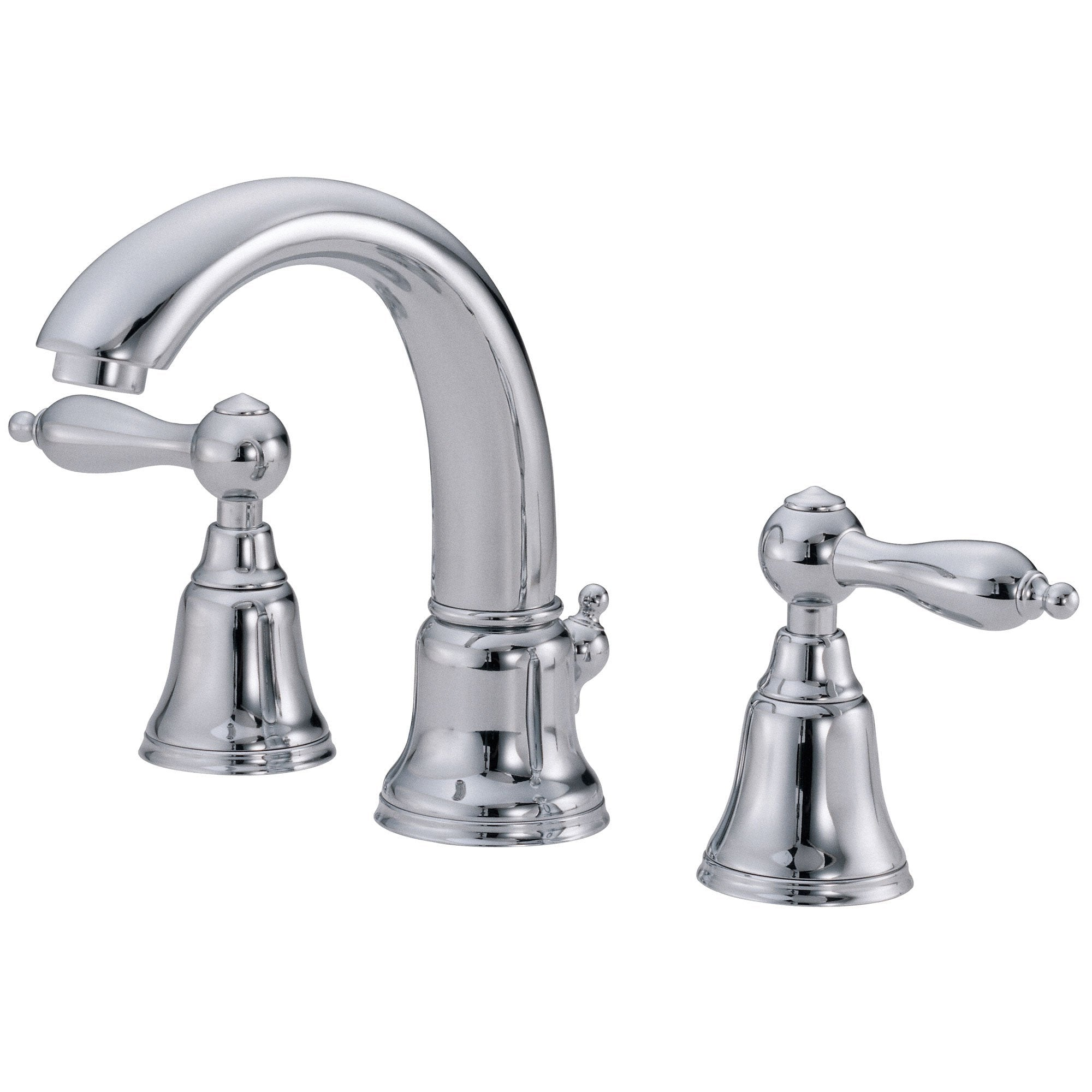 Danze Fairmont Chrome 2 Handle Widespread Bathroom Sink Faucet with Drain