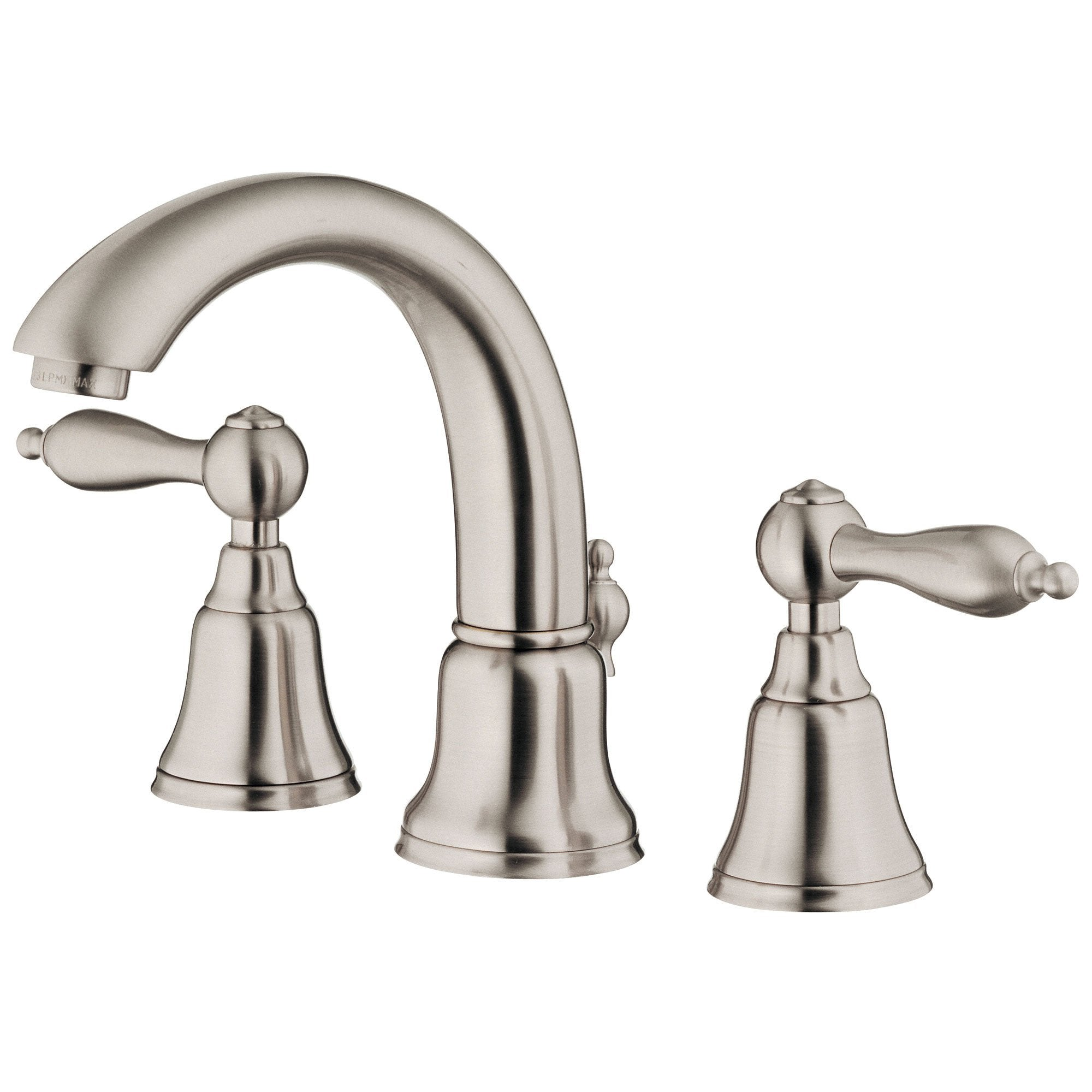 Danze Fairmont Brushed Nickel 2 Handle Widespread Bathroom Faucet w/Pop-up Drain