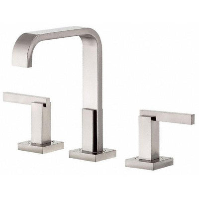 Danze Sirius Brushed Nickel Modern Trimline Hi-Spout Widespread Bathroom Faucet