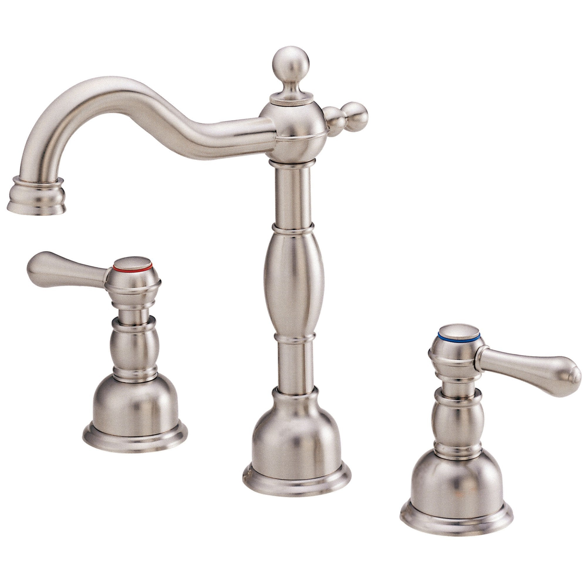 Danze Opulence Brushed Nickel Traditional Widespread Roman Tub Filler Faucet INCLUDES Rough-in Valve