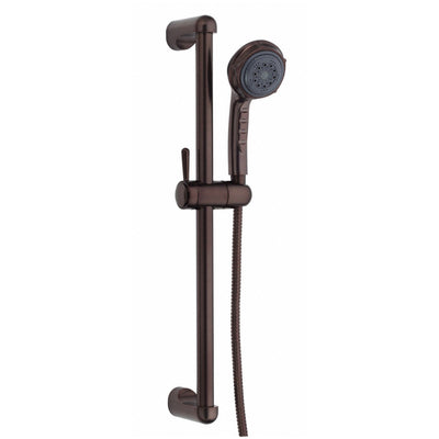 Danze Oil Rubbed Bronze 3 Function Hand Held Shower Head Kit w/ Slide Bar