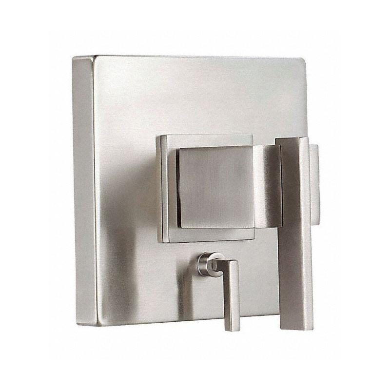 Danze Sirius Brushed Nickel Pressure Balance Shower Control with Diverter INCLUDES Rough-in Valve