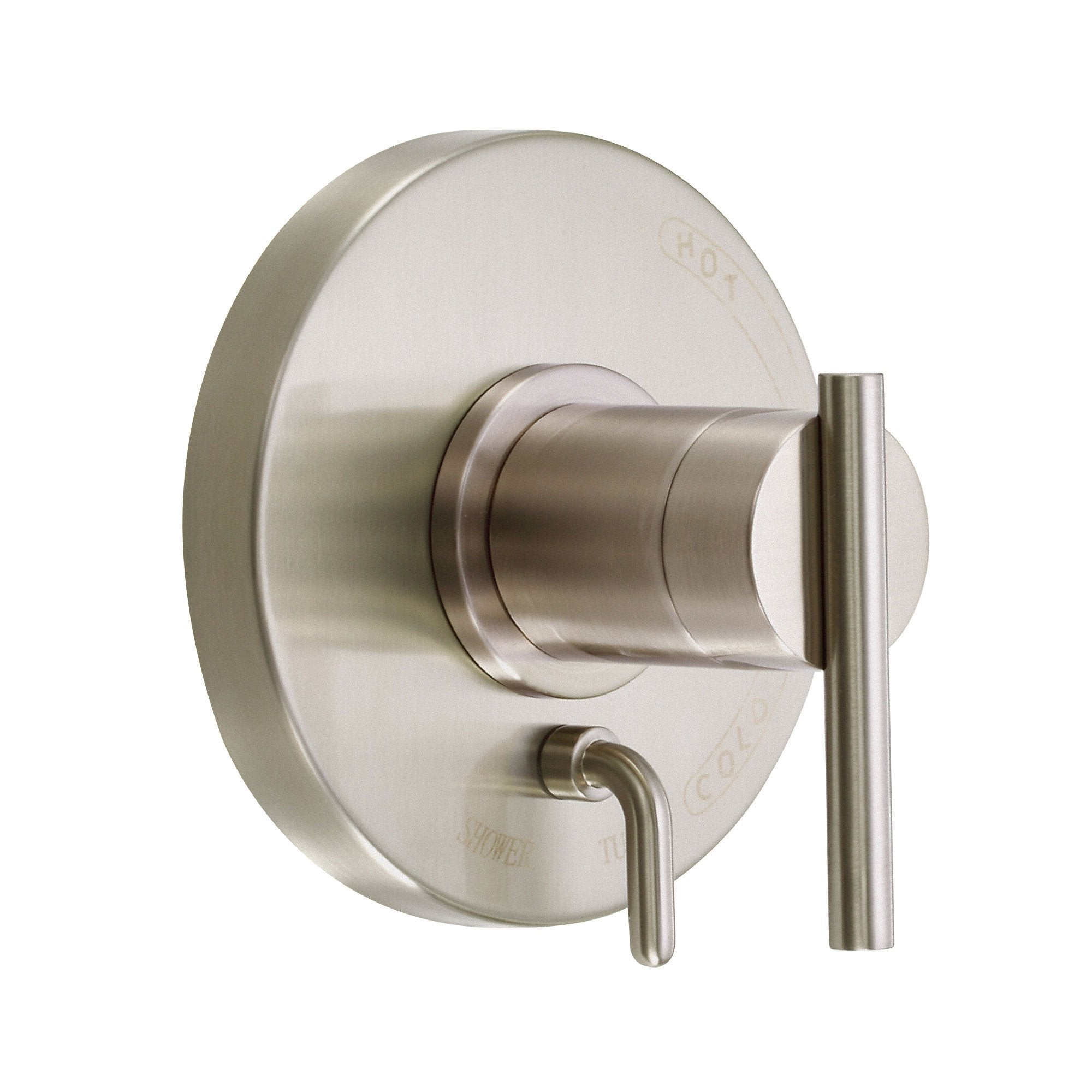 Danze Parma Brushed Nickel Pressure Balance Shower Control with Diverter INCLUDES Rough-in Valve